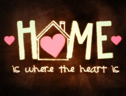 Home Is Where the Heart Is – lifethrupoems
